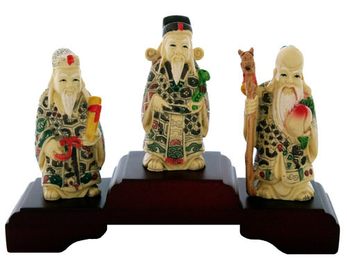 20140206012801852 Cách trưng bày tượng ba vị thần Phúc, Lộc, Thọ đúng nhất